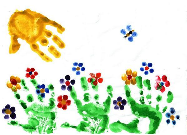 МАЛЕНЬКИЕ ТВОРЦЫ от 1 года - Творческие занятия для самых маленьких